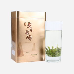 历史名茶 绿茶 黄山毛峰 远致黄山毛峰1号铁罐180克 高性价比
