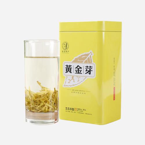 绿茶-珍稀 白茶 明前黄金芽100g装