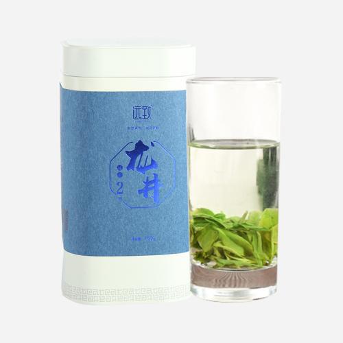 名茶之首 绿茶 龙井 远致龙井2號150g 清鲜爽滑