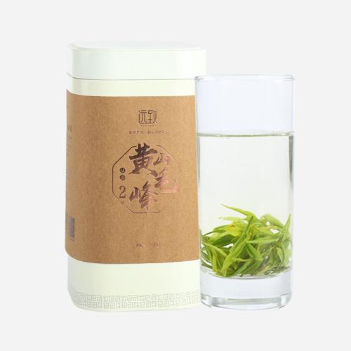 历史名茶 黄山毛峰2号 100g 清爽豆香