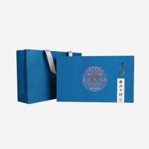 礼盒装-正山小种-蓝色中国茶礼250g(含提袋)