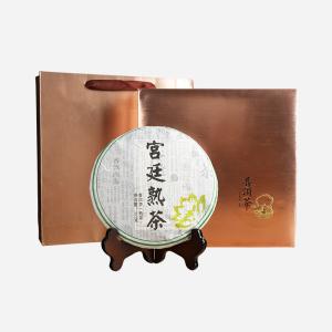 礼盒装-普洱茶-上好茶宫廷熟茶357g(含提袋)