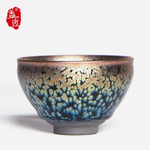 【范奇明】品茗杯-大师建盏-瑞雪盏