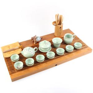 茶具套组 竹木 青韵空灵套装