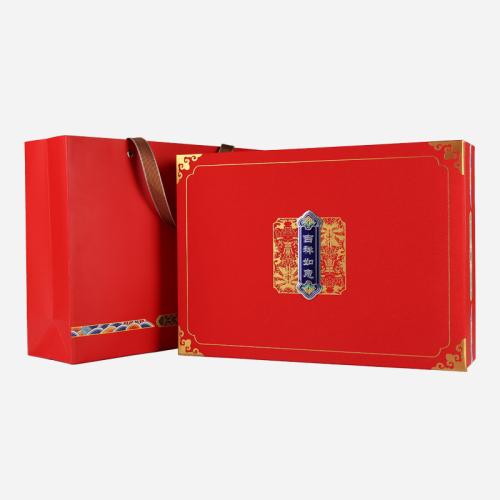 礼盒装-大红袍-红色吉祥如意250g(含提袋)
