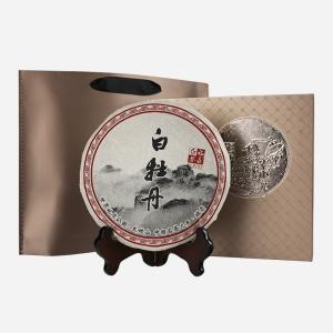 礼盒装-白茶-咖金色5年陈白牡丹357g