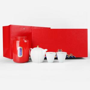 礼盒装-茉莉花茶-至尊祥云茶具礼盒装150g