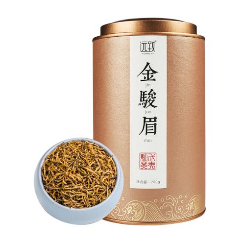 铁罐装-金骏眉-水满茶香特级黄芽单罐200g/两罐400g