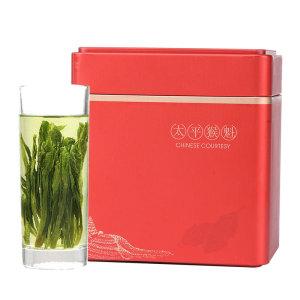 铁罐装 绿茶 红罐太平猴魁100g