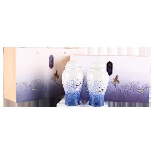 茉莉花茶-青语双瓷罐礼盒 200g