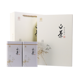 礼盒装-绿茶-清风竹影珍稀白茶200g