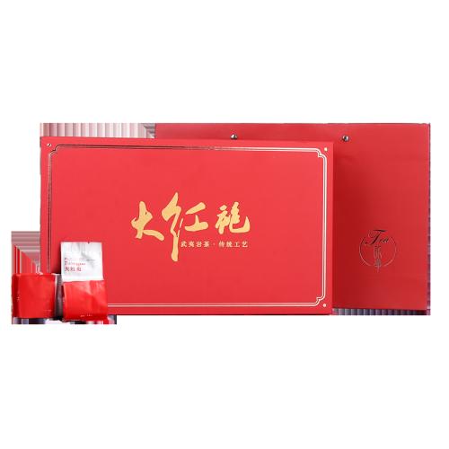 礼盒-大红袍-红色臻品250g