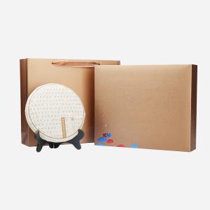 礼盒装-普洱茶-山水韵普洱茶饼357g(含提袋)