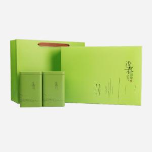 礼盒装-绿茶-浅春印象龙井200g(含提袋)