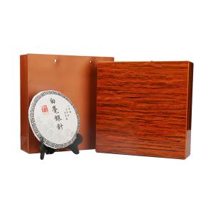 2014年 白茶 白毫银针 高级木盒装300g