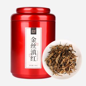 云南凤庆原产 金丝滇红 罐装150g