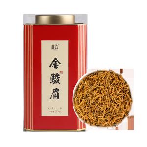 芽中芽金骏眉-五福临门100g铁罐装