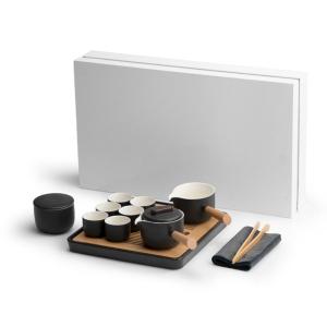 茶具-陶瓷-侧把壶茶具套装