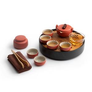 茶具-陶瓷-宫廷红茶具套装