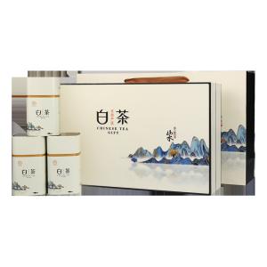 礼盒装-绿茶-山水自在白茶200g(含提袋)