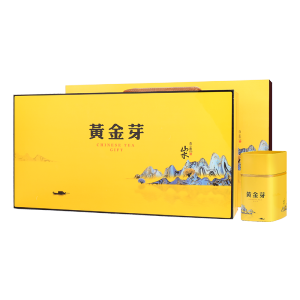 礼盒装-绿茶-山水自在黄金芽200g(含提袋)