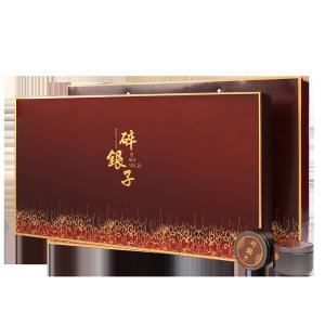 礼盒装-普洱茶-咖色碎银子小罐装420g(含提袋)