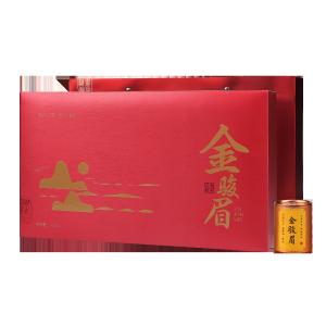 礼盒装-金骏眉-红色御书房小罐装180g(含提袋)