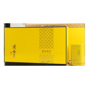 礼盒装-绿茶-蓝边滴塑黄金芽200g(含提袋)