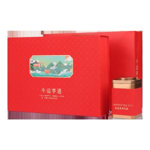 礼盒装-滇红-牛运亨通300g(含提袋)