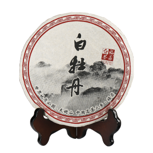 2013年高山白牡丹老茶饼