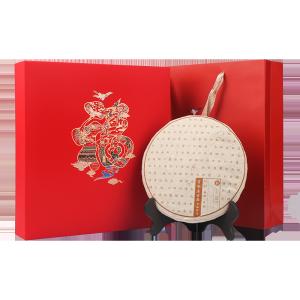 红色福字-普洱熟饼
